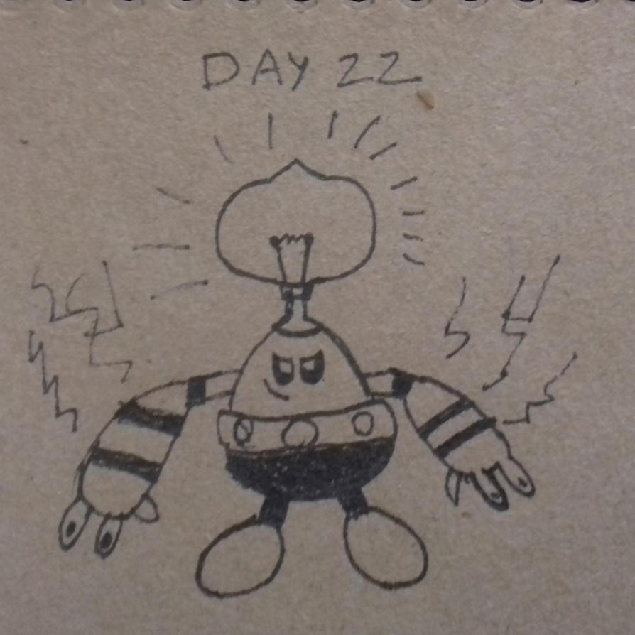 Day 22: Mini Lighting Bulb by dykroon-chan