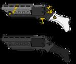 Ballista Autorevolver by ModernMercenary