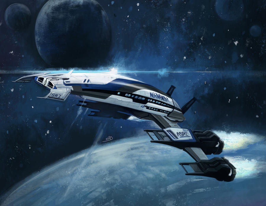 Normandy SR2 by selena-goulding