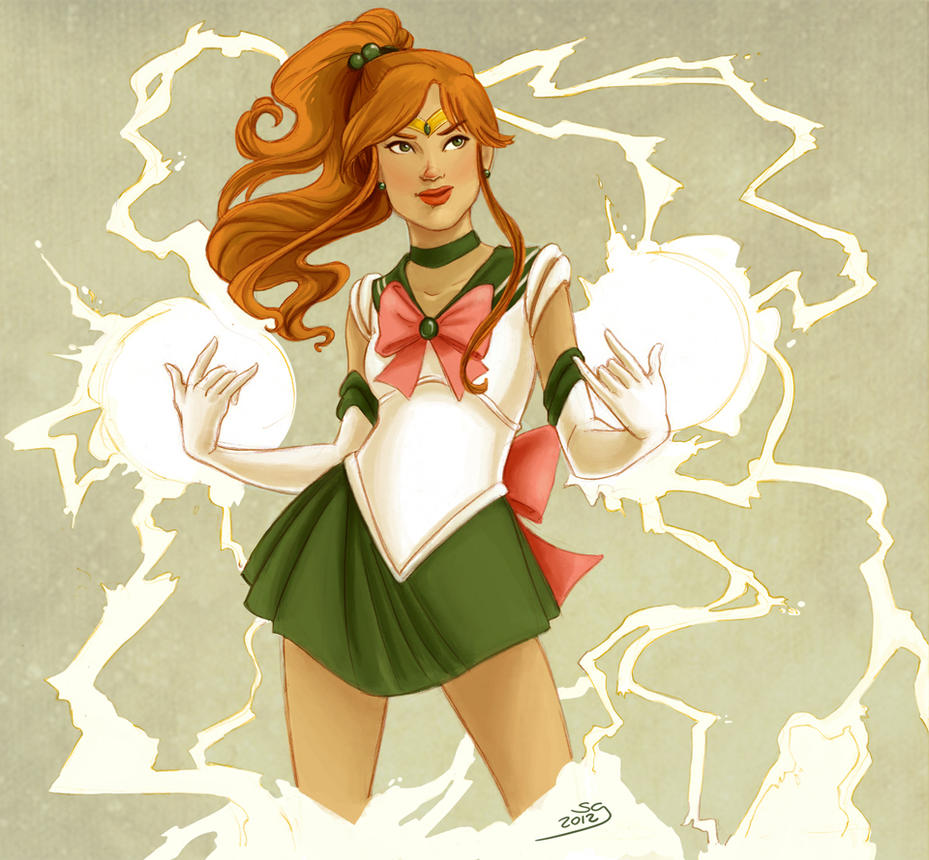 Sailor Jupiter by selena-goulding