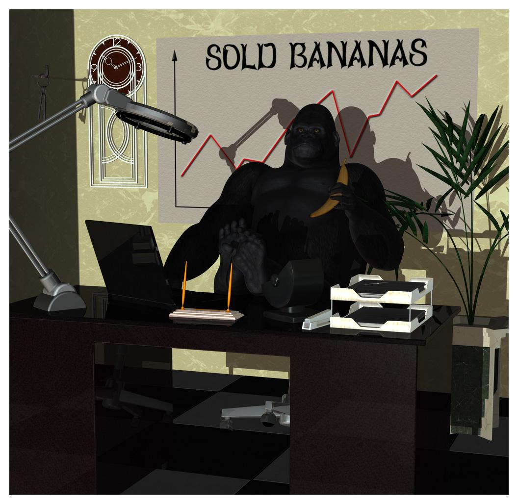 Monkey Business by Luddox
