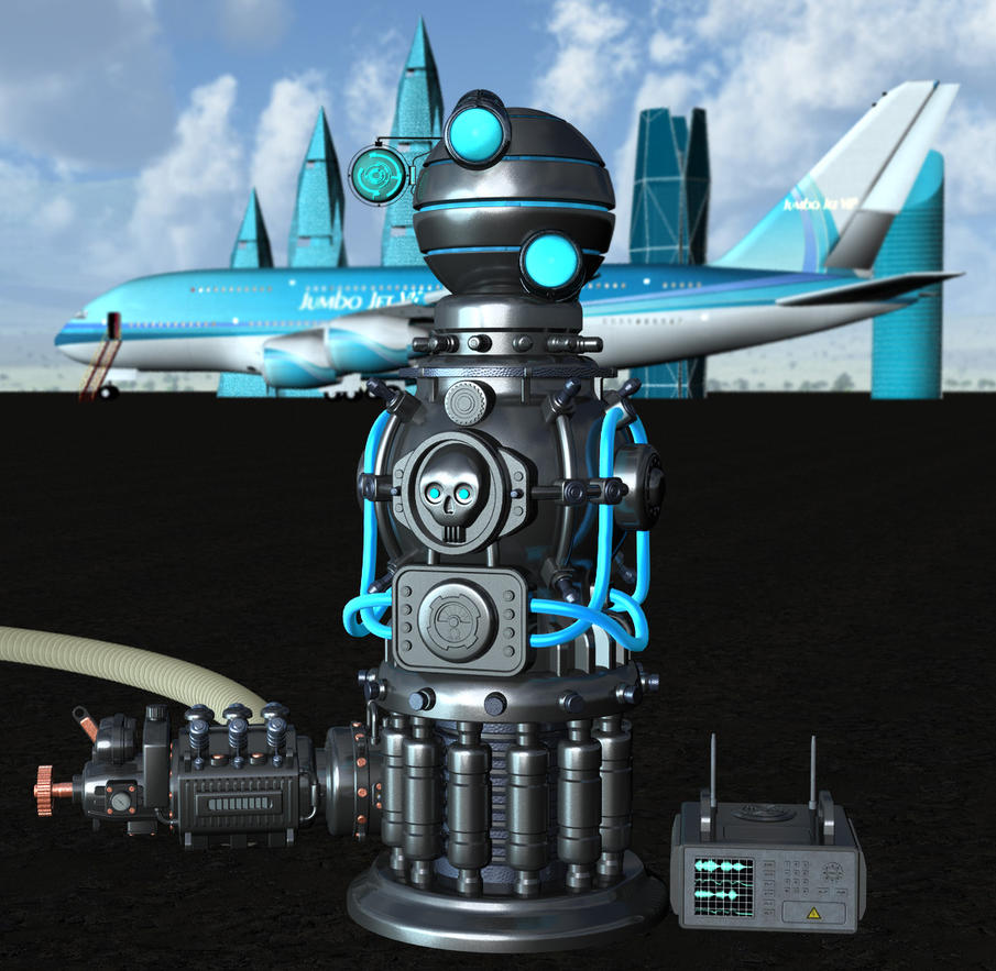The chemtrail apparatus by Luddox