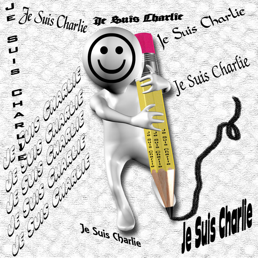 Je Suis Charlie by Luddox