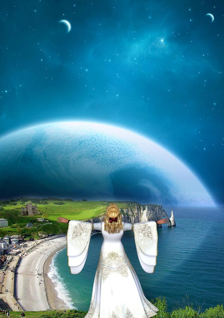 Twin world rising by Luddox