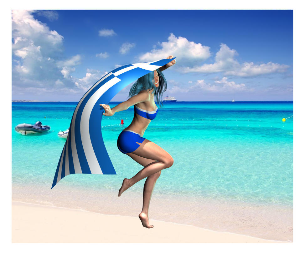 Support for Greece by Luddox