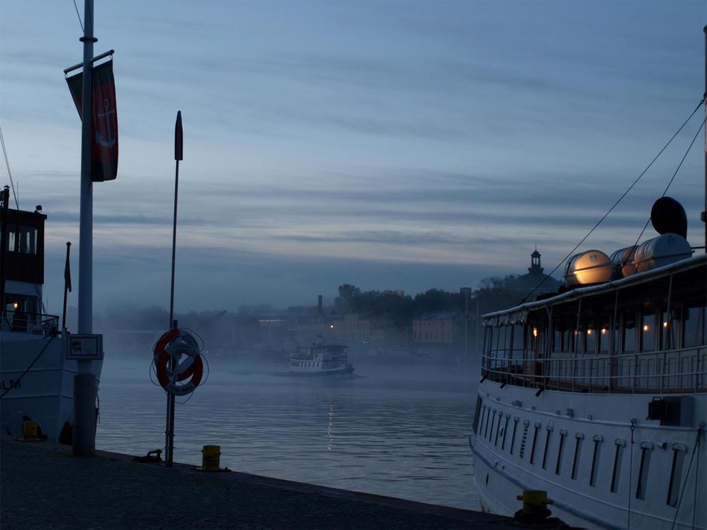 Smoke on the water III by Luddox