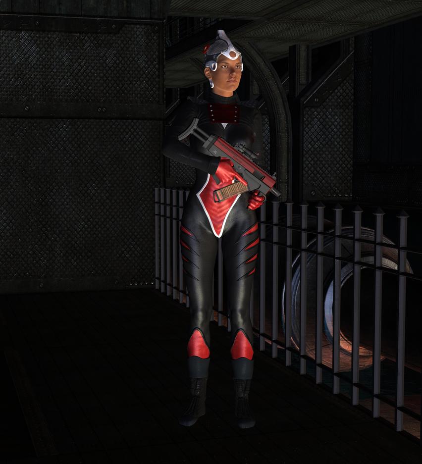 Guard Duty by Luddox