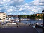 View from Slottsbacken