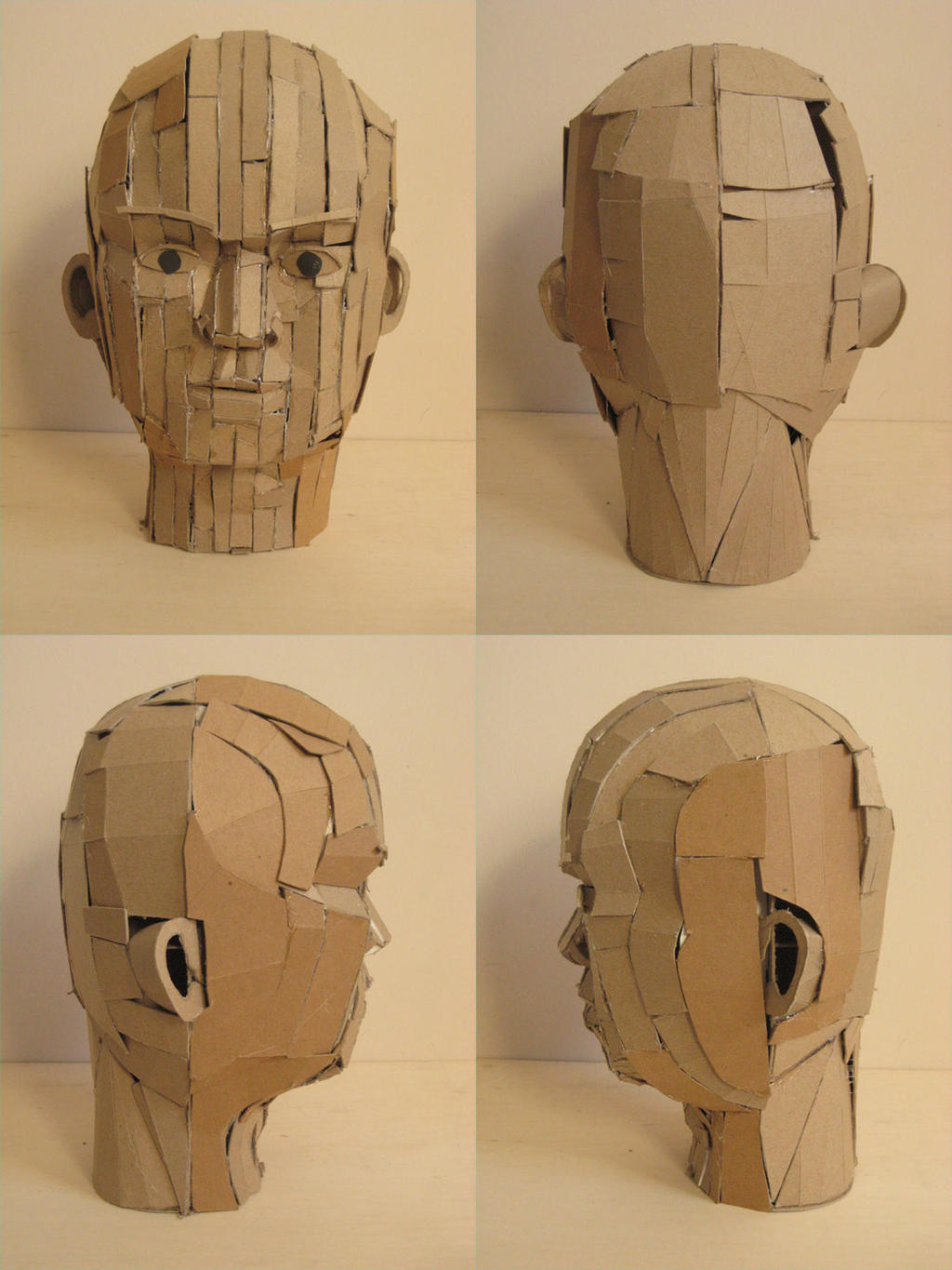 Head Sculpture by alanbecker