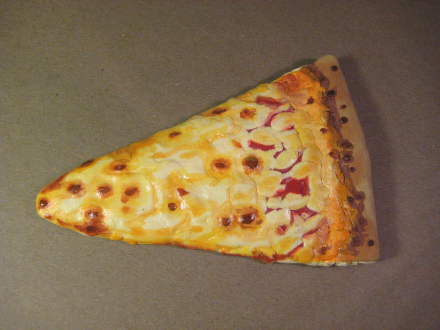 Fake Pizza Slice by alanbecker