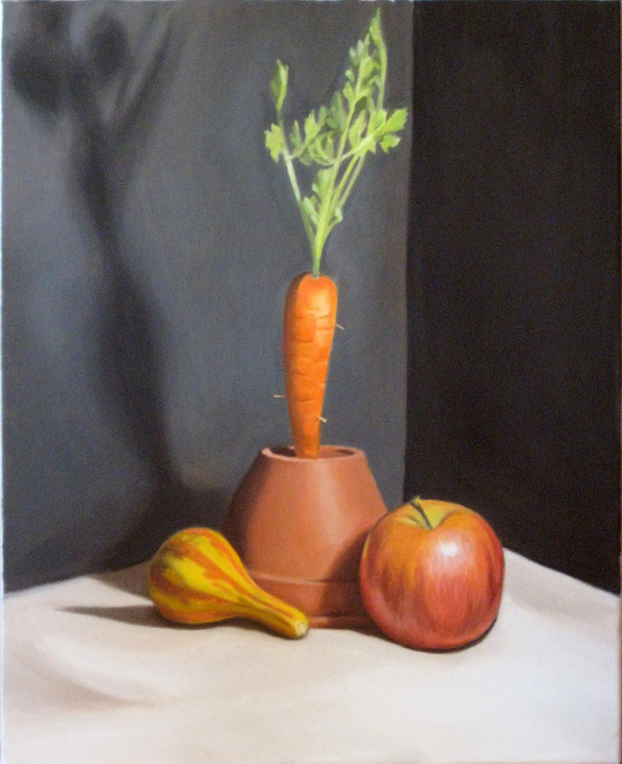 Still Life with Carrot by alanbecker