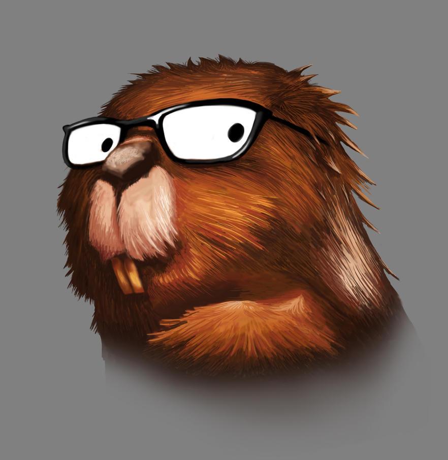 Beaver Geek by alanbecker