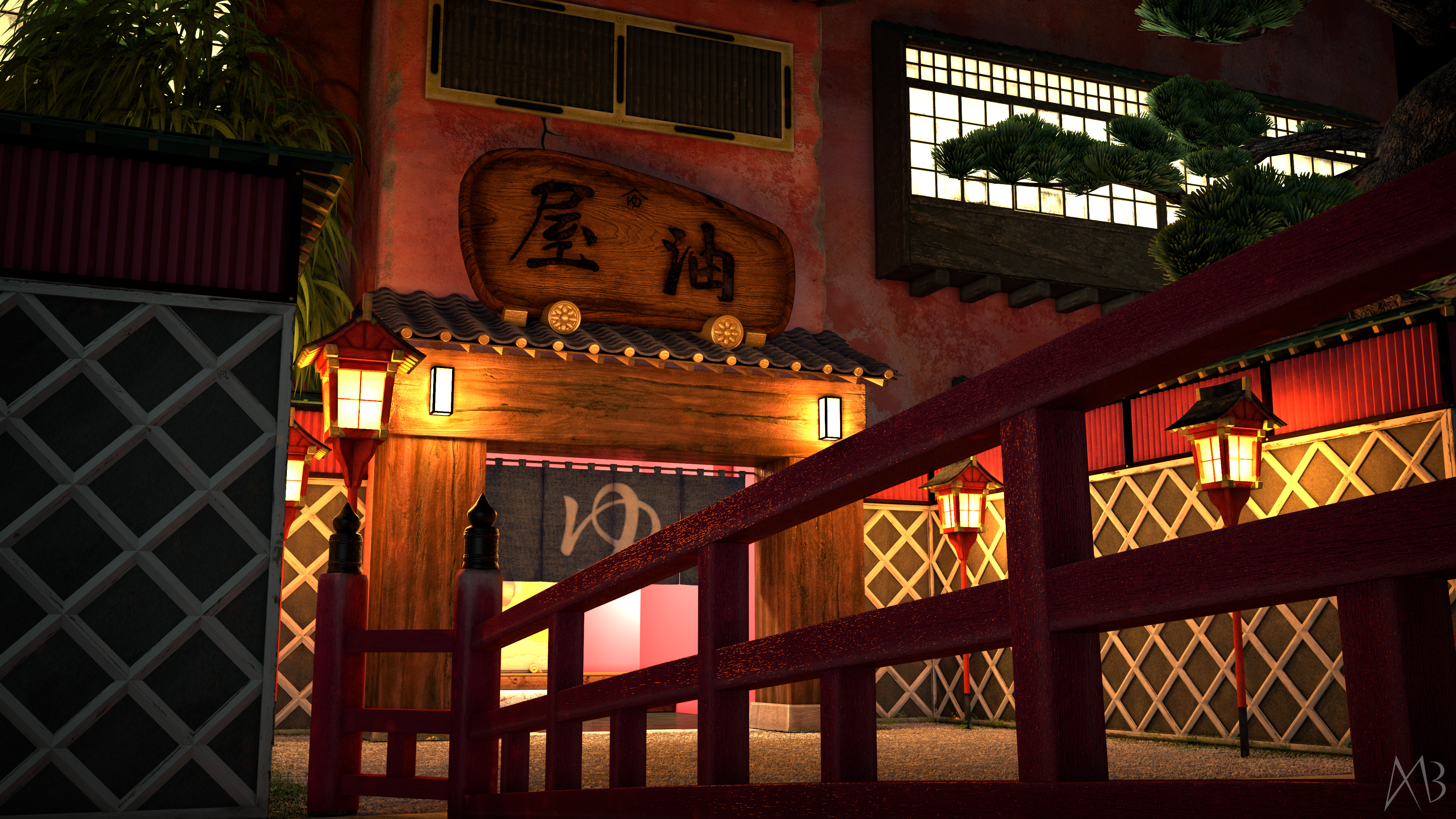 Spirited Away in Real Life 4 by alanbecker