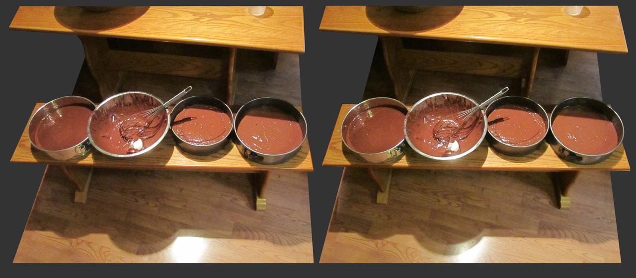 Stereograph - Cake Batter by alanbecker