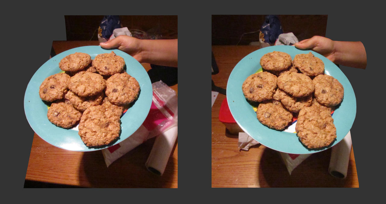 Stereograph - Cookies by alanbecker