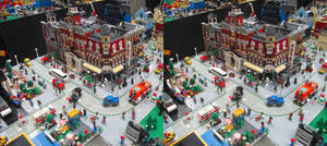 Stereograph - Lego Town