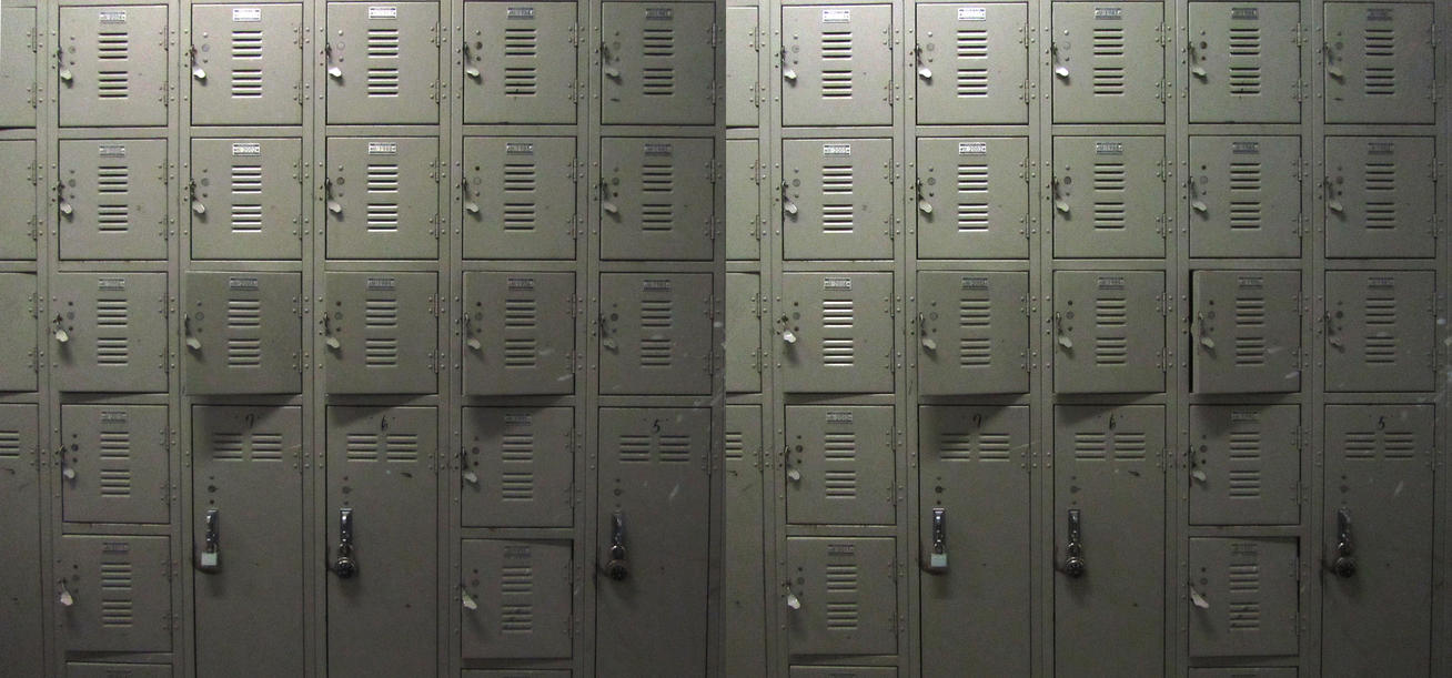 Stereograph - Lockers by alanbecker