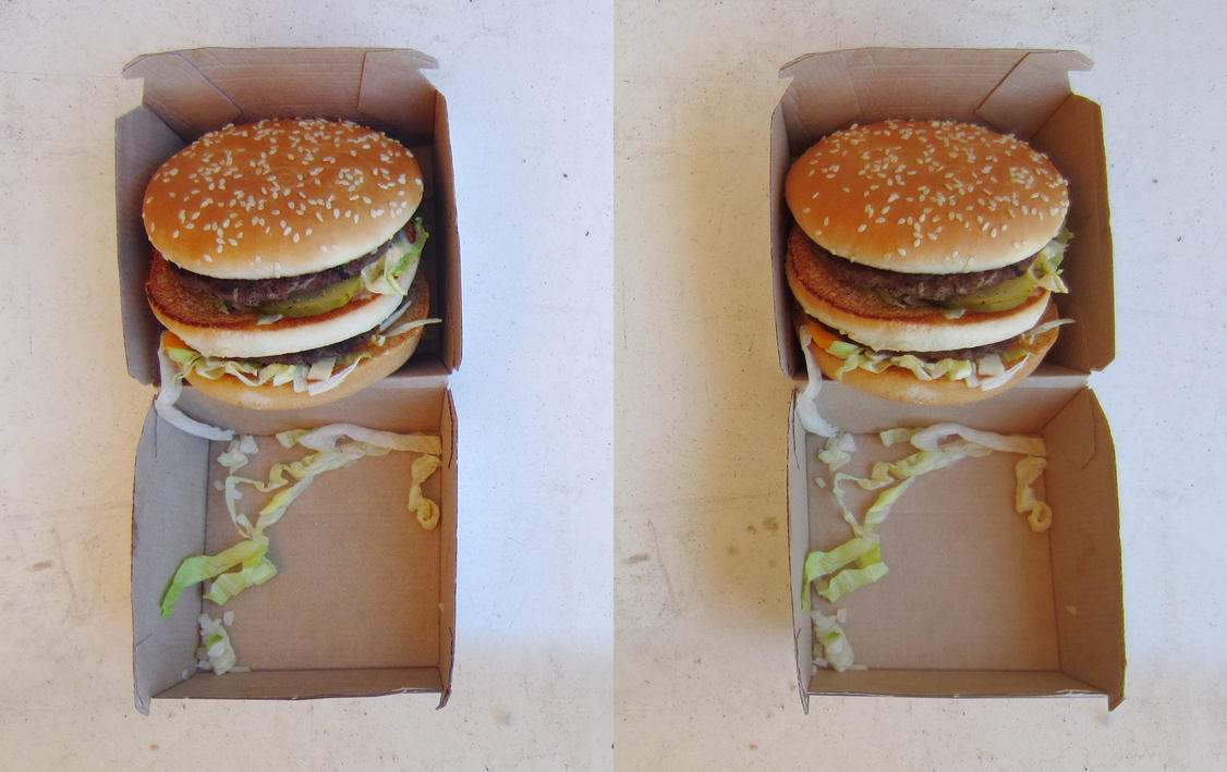 Stereograph - Big Mac by alanbecker