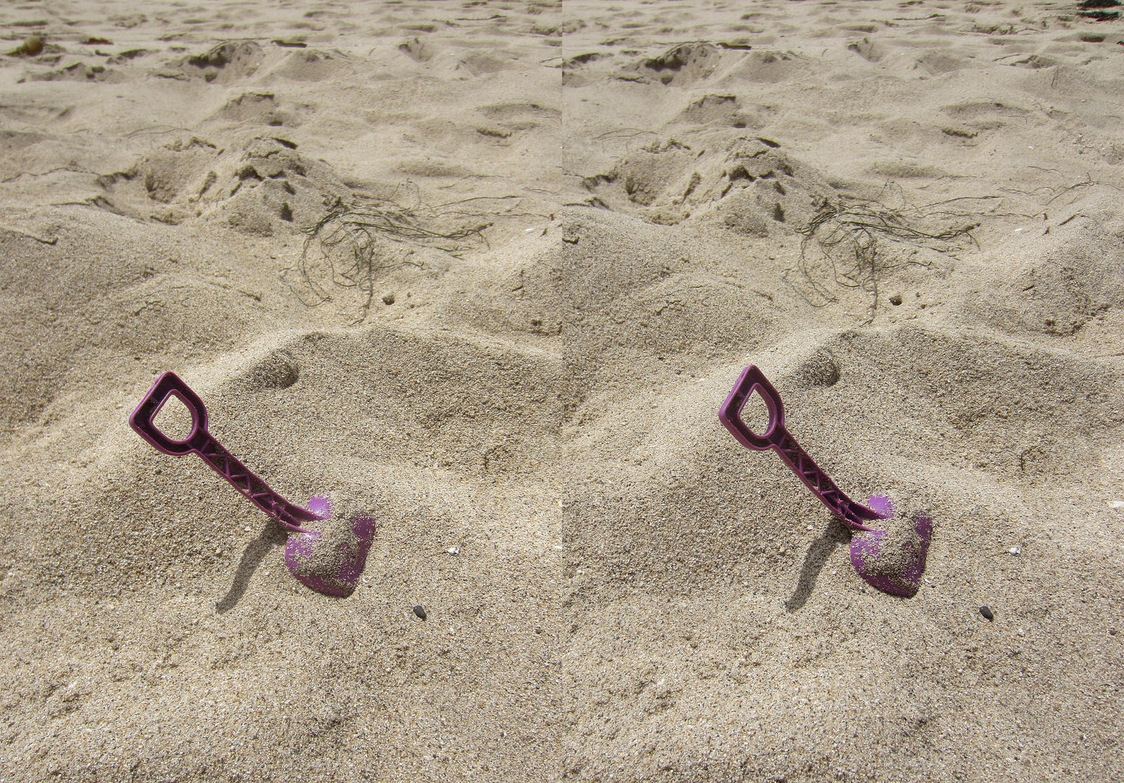 Stereograph - Shovel by alanbecker