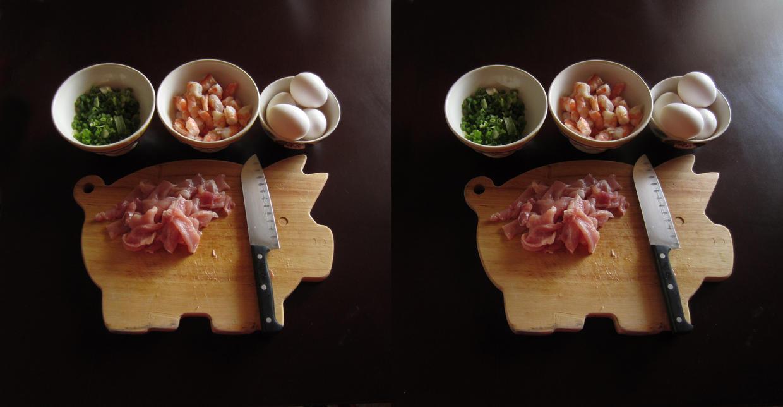 Stereograph - Pig Platter by alanbecker