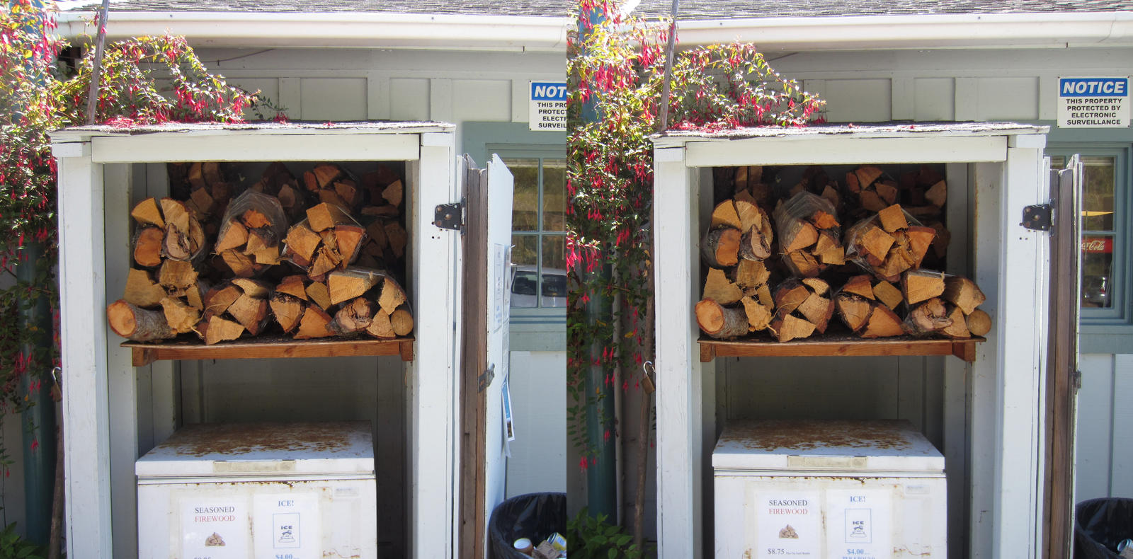 Stereograph - Firewood by alanbecker