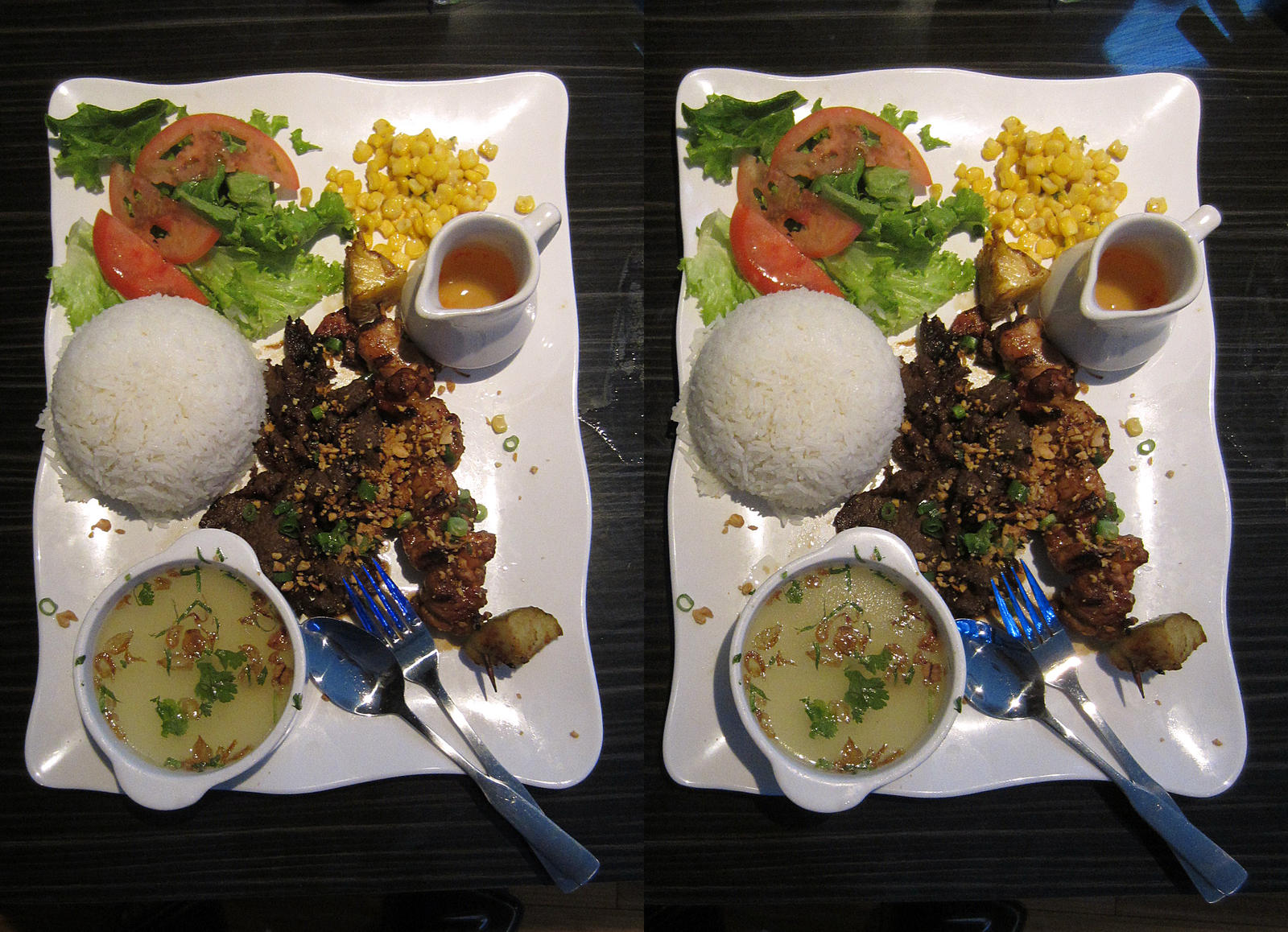 Stereograph - Fancy Entree by alanbecker