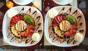 Stereograph - Waffle