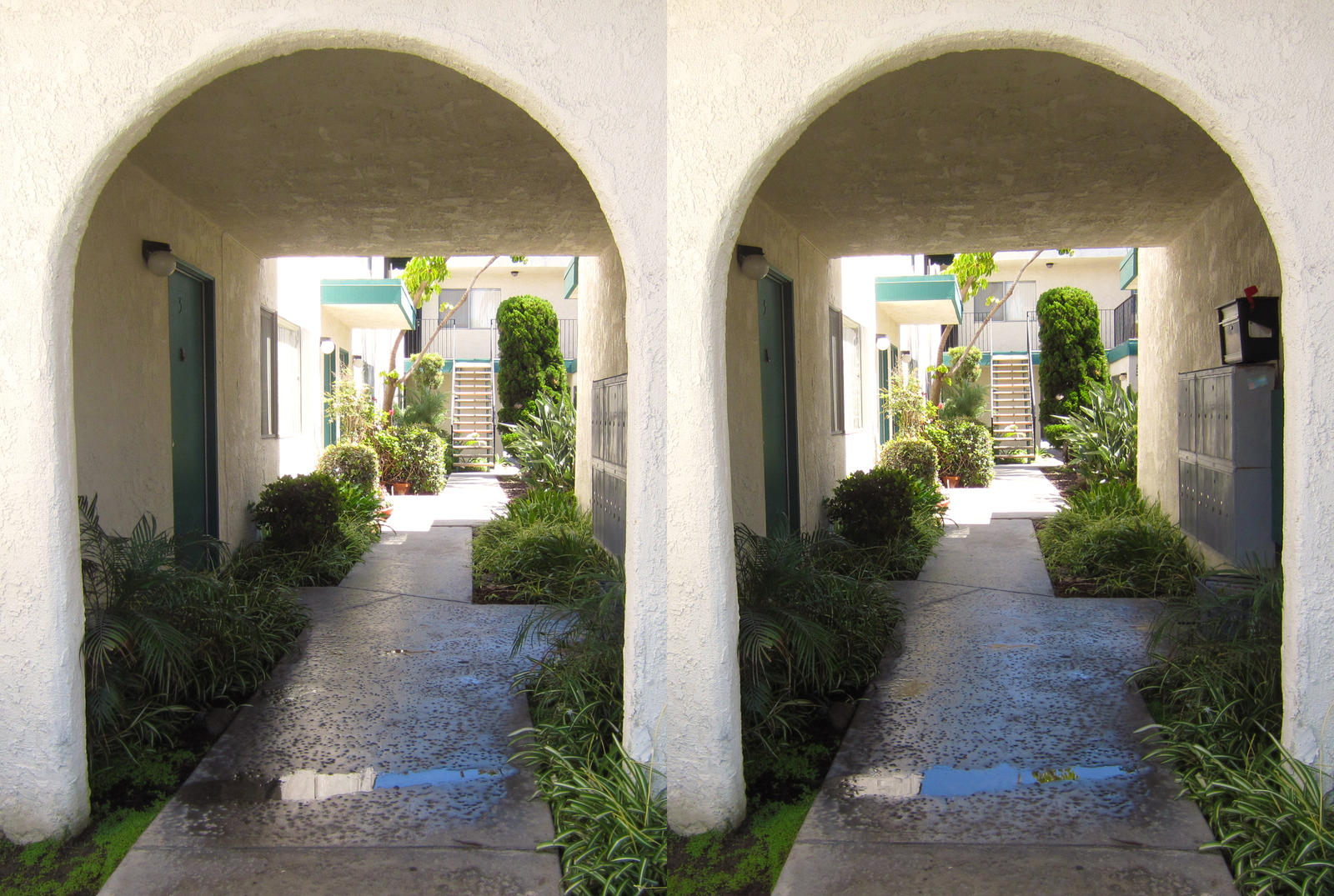 Stereograph - Entrance by alanbecker
