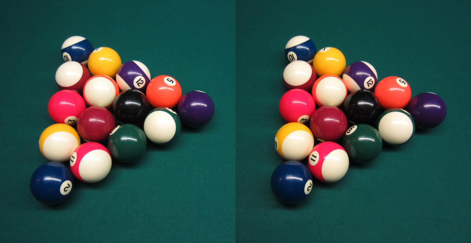 Stereograph - Billiards by alanbecker