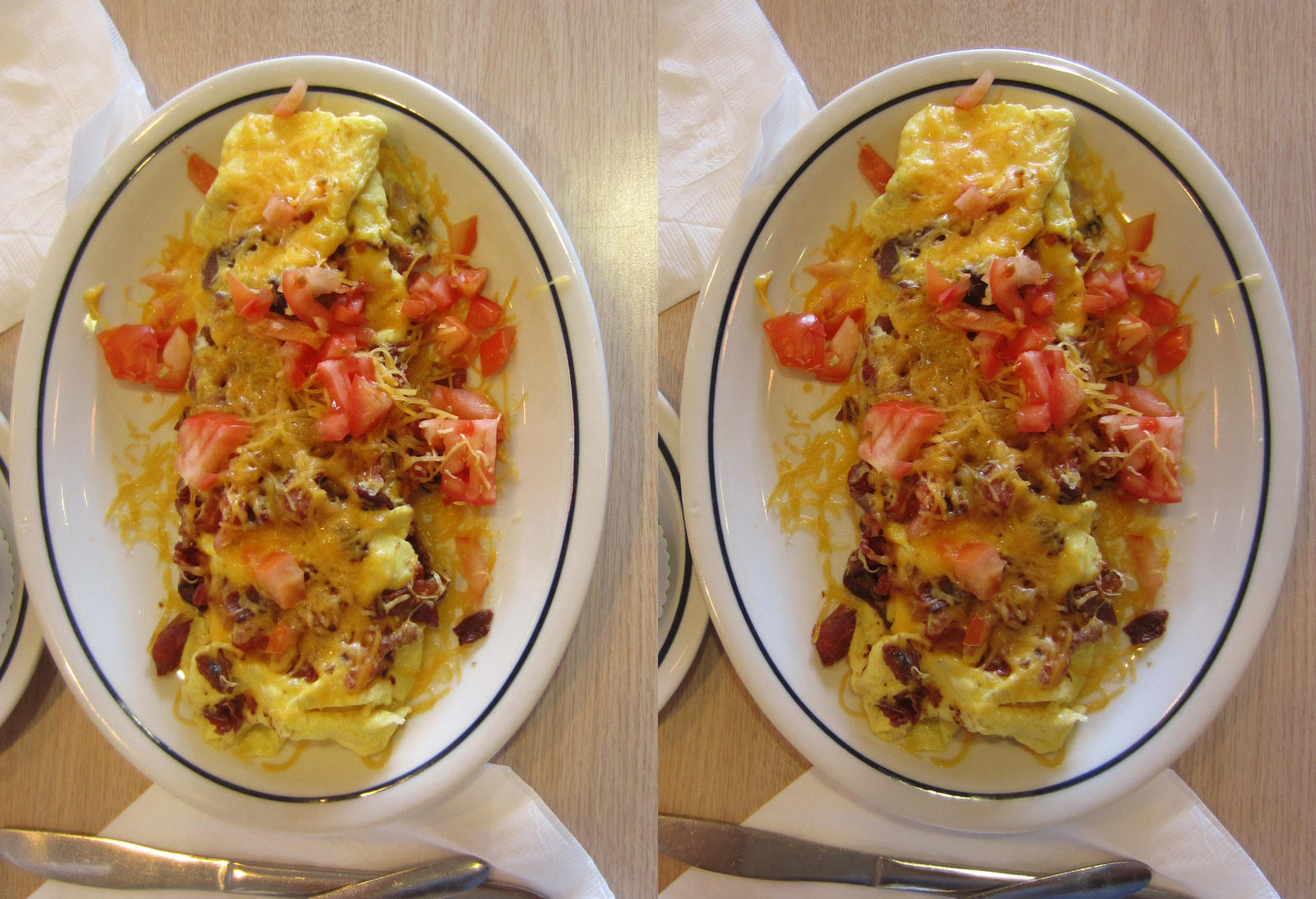 Stereograph - Omelet by alanbecker