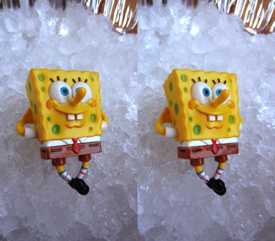 Stereograph - Spongebob Chillin' by alanbecker