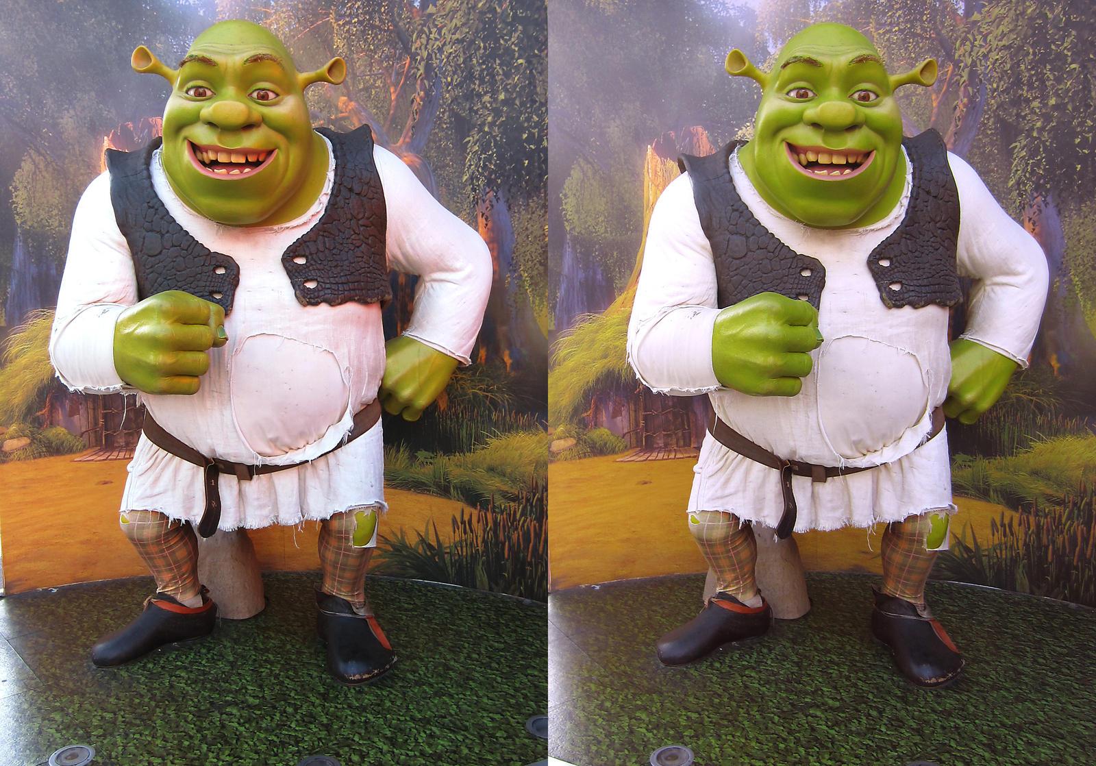 Stereograph - Shrek by alanbecker