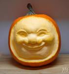 Chuckling Pumpkin by alanbecker