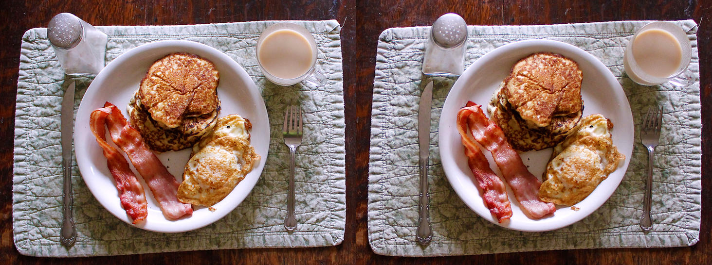 Stereograph - Classic Breakfast by alanbecker