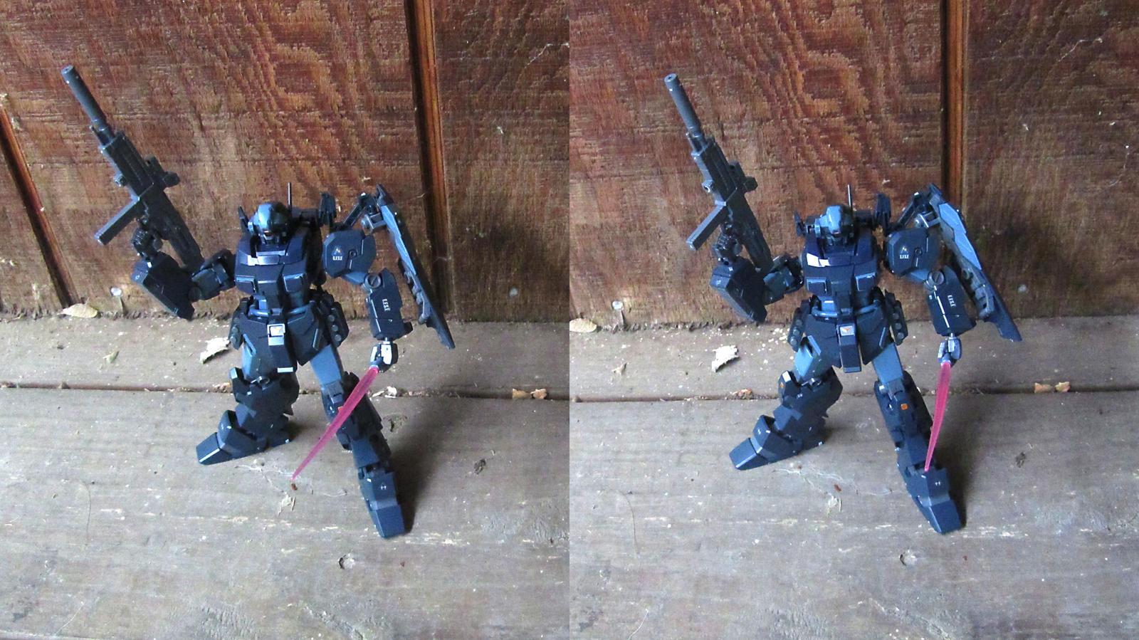 Stereograph - Gundam by alanbecker
