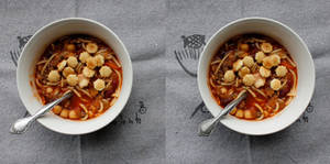 Stereograph - Ministrone Soup