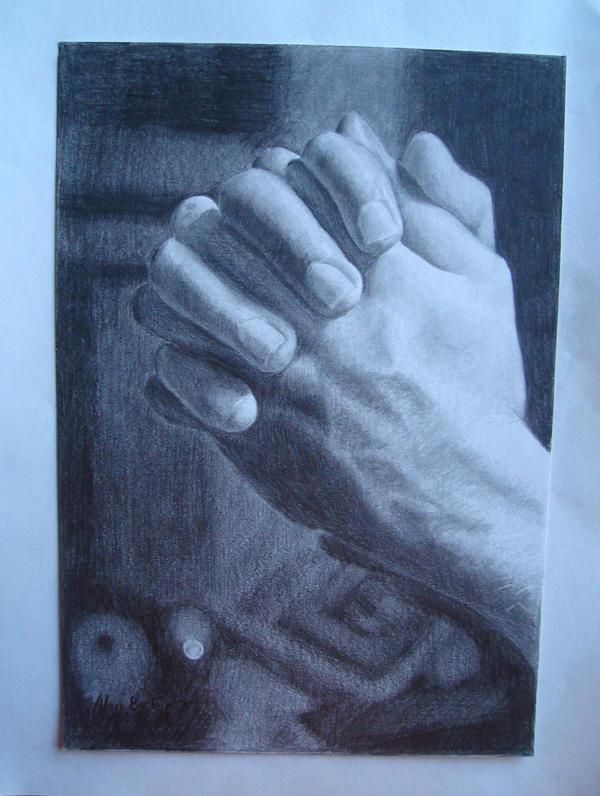 Praying by alanbecker