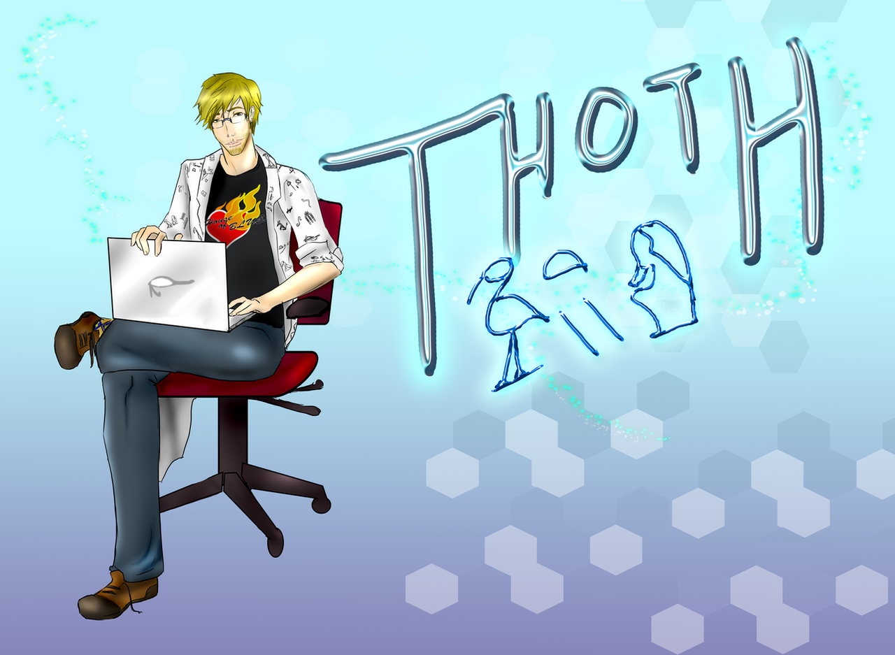 Thoth- Kane Chronicles wallpaper by ZombieOwl on DeviantArt