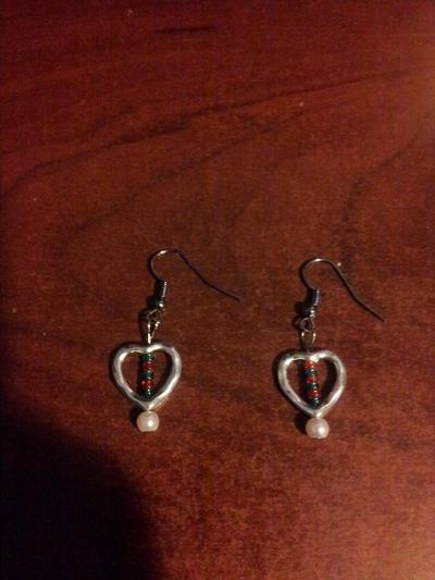 heart earrings by Naituramin