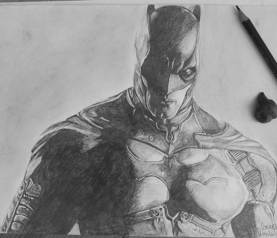Batman pencil drawing by qscardart on deviantart