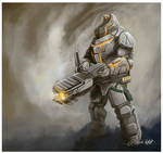 Lupain Heavy Infantry by TX-aster