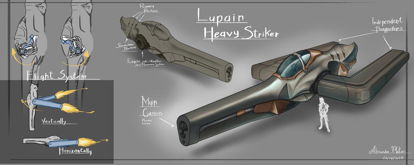 Lupain Heavy Striker by TX-aster