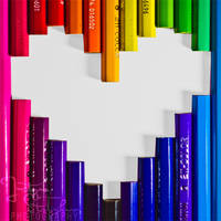 love colours by JustynaStolyhwo