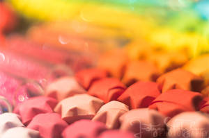 rainbow stars by JustynaStolyhwo