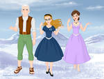 The BFG, Sophie, and Joanna part 2 by LoverofUnicorns96