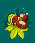Chestnuts by pica-ae