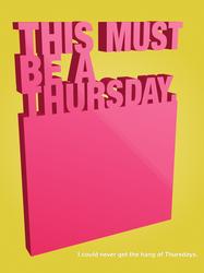 Thursdays... by pica-ae