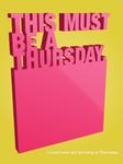Thursdays...