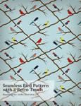 Retro-Bird-Pattern