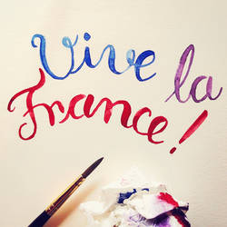 Vive la France! by pica-ae